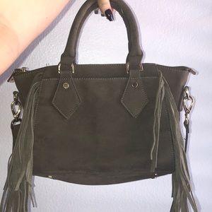 Handbags - cute army green purse